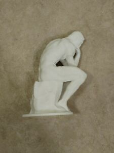 """Rodin's """"The Thinker"""" Statue 3D Printed Replica Sculpture Art - Free Shipping"""