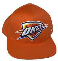 Oklahoma City Thunder Snapback Hat NBA Basketball Mitchell and Ness Cap