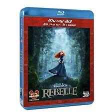 REBELLE        - DISNEY PIXAR       ------  BLU RAY 3D  + BLU RAY