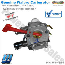 Walbro Carburetor WT-458-1 for Homelite Ultra 25cc, A04445A String Trimmers