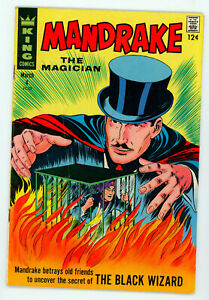 JERRY WEIST ESTATE: MANDRAKE THE MAGICIAN #1 (VG) & 4 (FN) (King 1966-67) NR