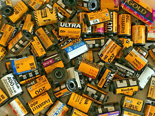 Lot of 70+ different Kodak film empty canisters