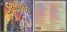SPIRIT OF THE 60s Various Artists 2 CD As Advertised on TV Question Moody Blues