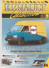 FASCICULE 60 RENAULT COLLECTION TRAFIC T 1100 FOURGON TÔLE SURÉLEVÉ DARTY