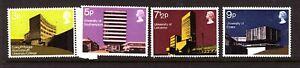Great Britain  1971 British Architecture set #890/93 Mint