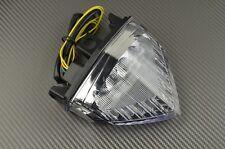 Feu arrière LED clignotant intégré clair Honda Hornet CB 600 2011 - 2015