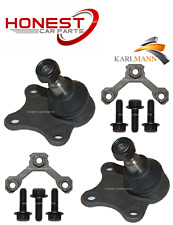 For SKODA ROOMSTER 2006> FRONT WISHBONE ARM BOTTOM BALLJOINTS & BOLTS X2