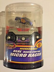 MICRO SPEED Xtreme~Rechargeable Micro Racer~Radio Control Race Car~New/Vintage