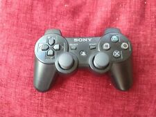 Official Genuine Original Sony dualshock 3 PS3 Wireless Controller Black VGC