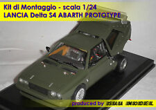 LANCIA DELTA S4 - Abarth Prototype   1/24 1 24 RESIN KIT by SAA MODEL
