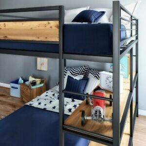 Better Homes & Gardens, Metal, bunk Beds, Contemporary, Full Over Twin, Sturdy