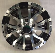 "New 15"" 5X4.5 bolt pattern Aluminum Trailer Wheel Rim Alloy T13-56545BM"