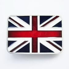 Union Jack Flag UK Flag Belt Buckle Gürtelschnalle Boucle de ceinture