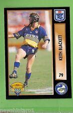 1994 Series 2 RUGBY LEAGUE CARD #79 KEITH BLACKETT  PARRAMATTA EELS