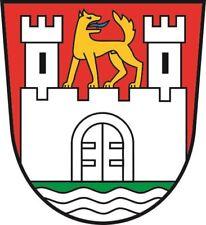 Aufkleber Wolfsburg Wappen Autoaufkleber Sticker Konturschnitt
