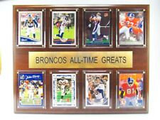 Denver Broncos all Time Greats Wood Wall Picture 38 cm, Plaque NFL Football