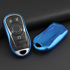 Aurora Blue Car Key Cover For Buick Enclave Encore Envision Lacrosse Regal TourX