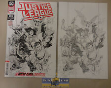 Justice League #1 2018 Set Of Incentive Variants 1:100 and 1:250 Jim Cheung