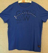 Herren T-Shirt kurzarm G-Star RAW Gr. XXL Farbe blau