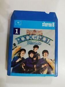 Mc Stereo 8 THE BEATLES Rock 'n' roll  EMI 1976 musicassetta Vol 1 (INTROVABILE)