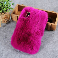 Fluffy Soft Fur TPU Phone Back Case Cover for iPhone XR 6.1 inch