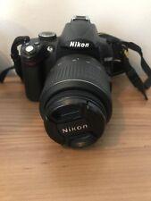 Nikon D5000 12.3MP Digital SLR Camera - Black (Kit w/ VR AF-S DX 18-55mm Lens )