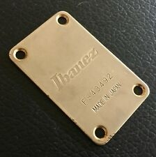 Rare 1984 Ibanez RB950 Roadstar II Deluxe Bass Guitar Gold Neck Plate Japan