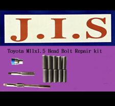 Fits EASY Toyota 02-13 Camry 2AZFE Head Bolt Thread Inserts Repair Kit M11x1.5