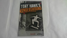MANUAL INSTRUCCIONES TONY HAWK´S UNDERGROUND PLAYSTATION 2 PS2 PAL UK INGLES