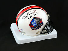 Dan Dierdorf SIGNED Football Hall of Fame Mini Helmet ITP PSA/DNA AUTOGRAPHED