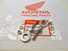 HONDA Z50 A K0-K4 (1968-1973) AXLE CHAIN ADJUSTERS + WASHERS & NUTS