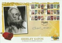 8 JANUARY 2008 JAMES BOND FDC HAND SIGNED BY ACTOR SHIRLEY EATON SHS