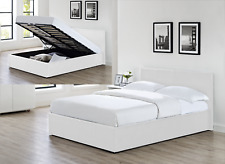 White Ottoman Double Size Beds With Mattresses Products