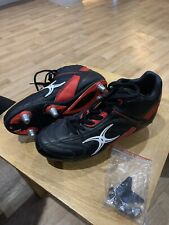 Gilbert rugby boots size 4