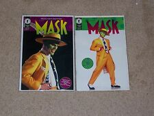 The Mask Official Movie Adaptation 1-2 (1994) Ful set