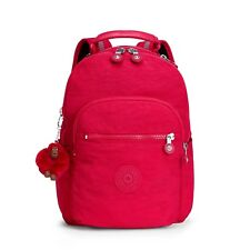 Kipling Small Backpack SEOUL GO S Tablet Protection TRUE PINK  RRP £79