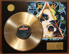 DEF LEPPARD HYSTERIA GOLD LP LTD EDITION RECORD DISPLAY