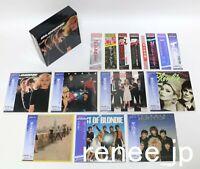 BLONDIE / JAPAN Mini LP CD x 7 titles + PROMO OBI + PROMO BOX Set!!