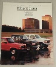 1992 Ford Commercial Trucks Pick-Ups Dealership Sales Brochure Catalog 19 Pages