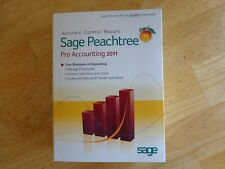 Peachtree Software Sage Peachtree Pro Accounting 2011 ( New Factory Sealed)