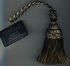 "4&1/2"" BLACK & GOLD KEY TASSEL LOT OF 2"