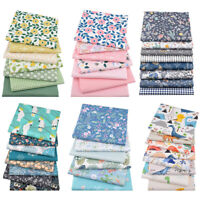 DIY Cotton Craft Fabric Fat Quarter Bundle Quilting Patchwork Floral Printed