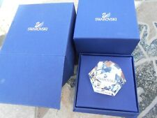 Swarovski Vip Lounge Octagon Swan Paperweight 50Mm #210127 Nib, never displayed