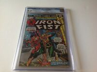 MARVEL PREMIERE 16 CGC 9.2 WHITE 2ND APPEARANCE IRON FIST ORIGIN MARVEL COMICS