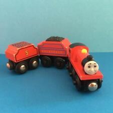 Aprendizaje Curve Thomas Tank Engine Tren de Madera Juguete The Mike & tierno personaje