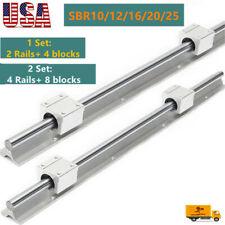 Sbr1216201025 Linear Rail Guide Shaft Sbr1216201025uu Bearing Block