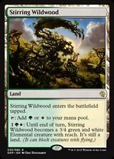 1x STIRRING WILDWOOD - Land - Zendikar vs Eldrazi - MTG - Magic the Gathering@