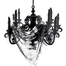 Skoopy spaventoso Halloween decorazioni DA SOFFITTO Candelabri con garza Casa Stregata