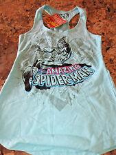 Marvel Vintage Comics Amazing Spider-man Women's Racerback Tank Top- size L- NWT