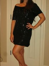 VICTORIA'S SECRET SUPERMODEL ESSENTIALS BLING SEQUIN MINI DRESS COVERUP NWT XS
